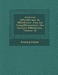 Archives G En Erales de M Edecine: Journal Compl Ementaire Des Sciences M Edicales, Volume 18