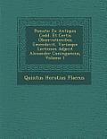 Po Mata: Ex Antiquis Codd. Et Certis Observationibus Emendavit, Variasque Lectiones Adjecit Alexander Cuningamius, Volume 1