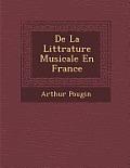de La Litt Rature Musicale En France