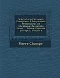 Selecta Latini Sermonis Exemplaria: E Scriptoribus Probatissimis Ad Christianae Juventutis Usum. ... Solutae Orationis Excerptio, Volume 4