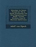 Schreiben an Seinen Freund Ber Das in Druck Erschienene Von Dem Exjesuiten Franz Beuth, Verfat E Werklein Julia Et Montium Subterranea