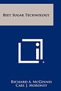 Beet Sugar Technology