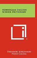 Norwegian English School Dictionary
