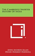 The Cambridge Shorter History of India