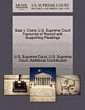 Sala V. Crane U.S. Supreme Court Transcript of Record with Supporting Pleadings