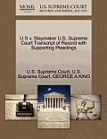 U S V. Slaymaker U.S. Supreme Court Transcript of Record with Supporting Pleadings