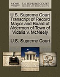 U.S. Supreme Court Transcript of Record Mayor and Board of Aldermen of Town of Vidalia V. McNeely