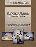 U S V. Vanbiervliet U.S. Supreme Court Transcript of Record with Supporting Pleadings