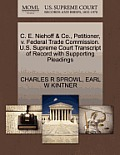 C. E. Niehoff & Co., Petitioner, V. Federal Trade Commission. U.S. Supreme Court Transcript of Record with Supporting Pleadings