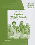 Elementary Algebra - Student Solution Man (6TH 14 Edition)