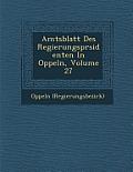 Amtsblatt Des Regierungspr Sidenten in Oppeln, Volume 27