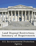 Land Disposal Restrictions Summary of Requirements
