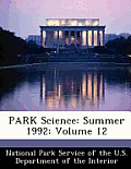 Park Science: Summer 1992: Volume 12