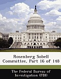 Rosenberg Sobell Committee, Part 16 of 148