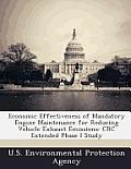 Economic Effectiveness of Mandatory Engine Maintenance for Reducing Vehicle Exhaust Emissions: CRC Extended Phase I Study