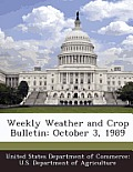 Weekly Weather and Crop Bulletin: October 3, 1989