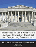 Evaluation of Land Application Systems Evaluation Checklist and Supporting Commentary