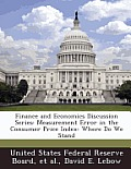 Finance and Economics Discussion Series: Measurement Error in the Consumer Price Index: Where Do We Stand
