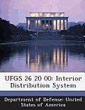 Ufgs 26 20 00: Interior Distribution System