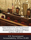 Natural Resources and Environment: Information on Corps of Engineers Deauthorization Program for Water Projects: Ced-82-55