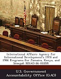 International Affairs: Agency for International Development's 1978 and 1986 Programs for Jamaica, Kenya, and Senegal: Nsiad-86-103br