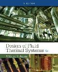 Si Design of Fluid Thermal Systems