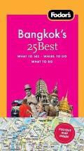 Fodors Bangkoks 25 Best 5th Edition