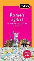 Fodor's Rome's 25 Best (Fodor's Rome's 25 Bests)