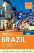 Fodors Brazil 2014