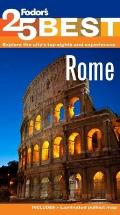 Fodor's Rome's 25 Best, 9th Edition (Fodor's Rome's 25 Bests)