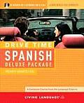 Living Language Drive Time Spanish Deluxe Package