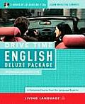 Drive Time English Deluxe Package: Intermediate-Advanced Level