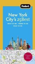 Fodors New York Citys 25 Best 8th Edition