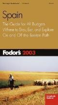 Fodors Spain 2003