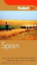 Fodors Spain 2004