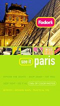 Fodors See It Paris 1ST Edition Cover
