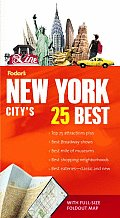 Fodor's Citypack New York City's 25 Best with Map (Fodor's Citypack New York City's 25 Best) Cover