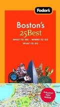 Fodor's Boston's 25 Best with Map (Fodor's Boston's 25 Best)