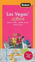 Fodor's Las Vegas' 25 Best with Map (Fodor's Las Vegas' 25 Best) Cover