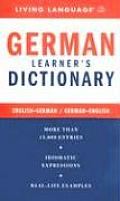 Ll German Learners Dictionary 2005 Edition Cover