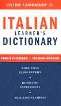 Ll Italian Learners Dictionary 2005 Edition