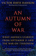 An Autumn of War: What America Learned from September 11 and the War on Terrorism Cover