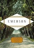 Emerson: Poems (Everyman's Library Pocket Poets) Cover
