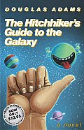 The Hitchhiker's Guide to the Galaxy 25th Anniversary Edition Cover