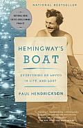 Hemingway's Boat: Everything He Loved in Life, and Lost (Vintage) Cover