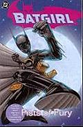 Fists Of Fury Batgirl