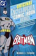 Encyclopedia of Comic Book Heroes: Batman - Volume 1 (Original Encyclopedia) Cover
