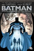 Whatever Happened to the Caped Crusader? (Batman) Cover