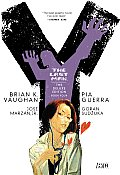 Y the Last Man Deluxe Edition Book Four Cover