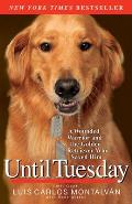 Until Tuesday: A Wounded Warrior and the Golden Retriever Who Saved Him Cover